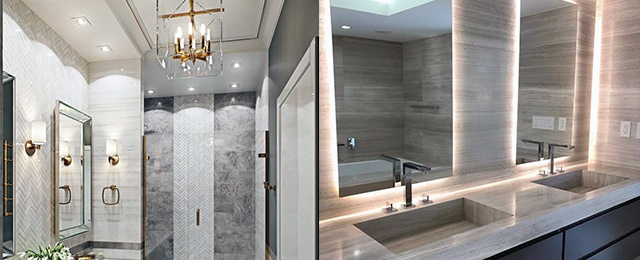 Top 50 Best Bathroom Lighting Ideas - Interior Light Fixtur