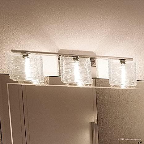 "Luxury Modern Bathroom Light, Medium Size: 6.75""H x 22.5""W, with ."