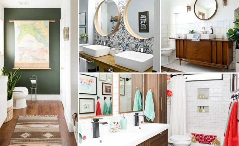 13 DIY Bathrooms You Have to See to Believe | Kaleidoscope Livi