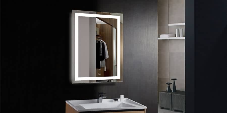 Led mirrors | Contemporary bathroom illuminated led mirro