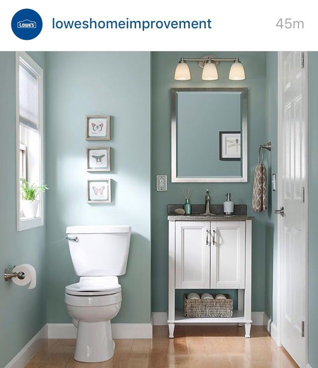 Sherwin Williams Worn Turquoise | Small bathroom colors, Small .