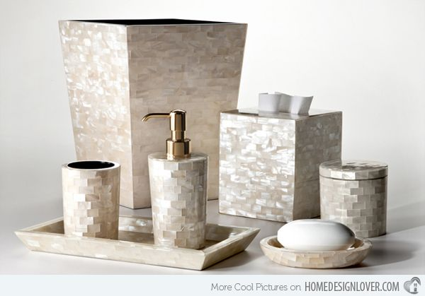 15 Luxury Bathroom Accessories Set | Bathroom accessories luxury .
