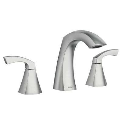 Moen Lindor Spot Resist Brushed Nickel 2-handle Widespread .