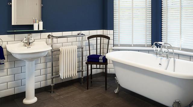 Montague Victorian Bathroom Suite - Traditional - Bathroom - Hampshi