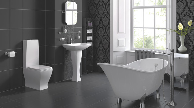 Antonio Bathroom Suite - Contemporary - Bathroom - Hampshi