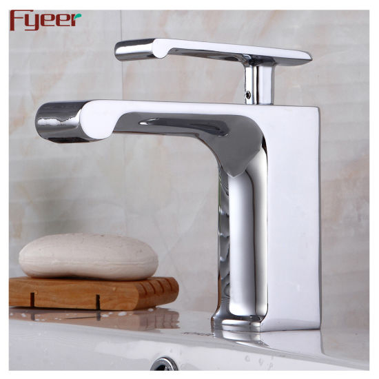 China 2019 Fyeer New Style Single Lever Brass Bathroom Taps .