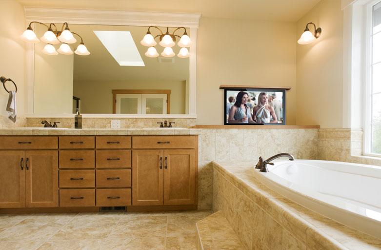 Bathroom TV Ideas - Television Ideas for the Bathroom | Nexus