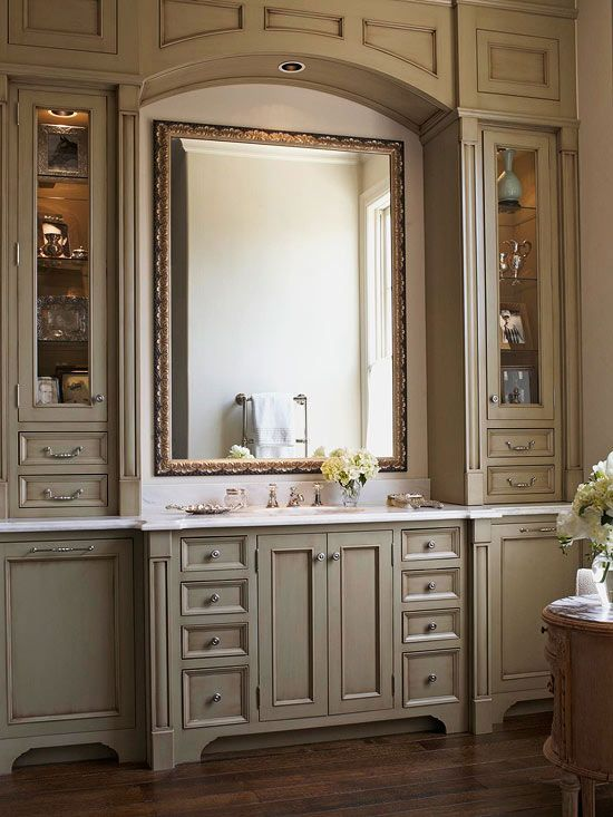 Bathroom Vanity Ideas | Bathroom vanity cabinets, Home, False .