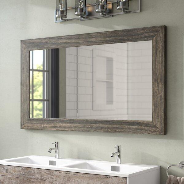 Union Rustic Landover Rustic Bathroom/Vanity Mirror & Reviews .