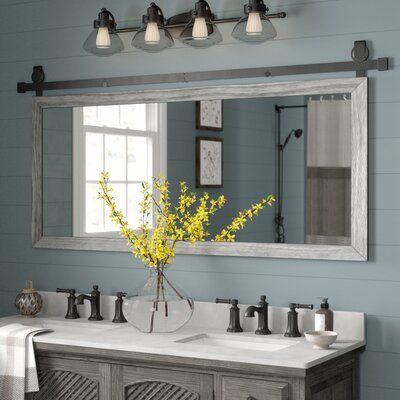Gracie Oaks Nicholle Bathroom/Vanity Mirror in 2020 | Traditional .