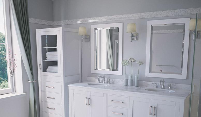 Bathroom Mirrors | Vanity, Modern, Framed & Antique - Modern Bathro