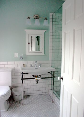 29_5.jpg 351×487 pixels | White subway tile shower, Beadboard .