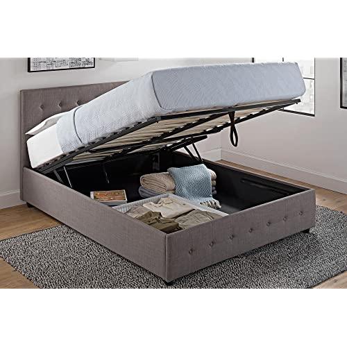 Bed with Storage Underneath: Amazon.c