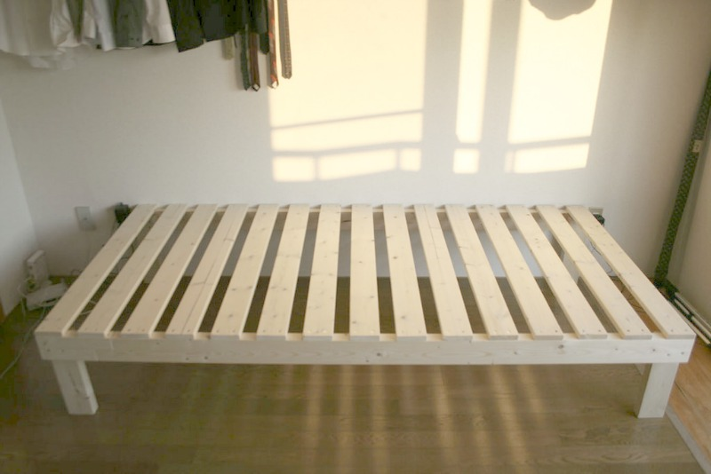 5 DIY Bed Frame Ideas - Kicking It With Kel
