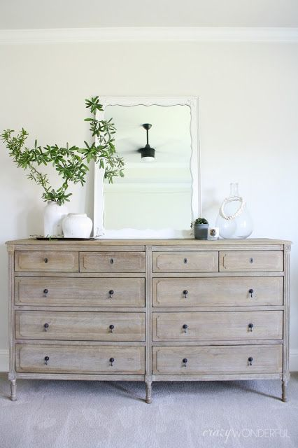 our bedroom dresser | Bedroom dressers, Light wood dresser .