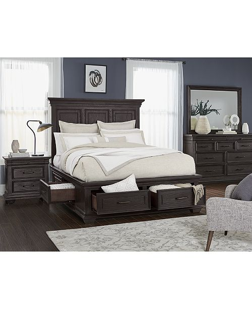 Furniture Hansen Storage Bedroom Furniture Collection, Created for .