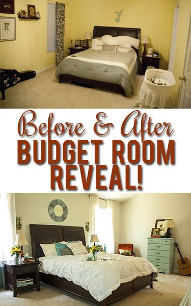 Surprise master bedroom makeover on a tiny budget! | Bedroom .