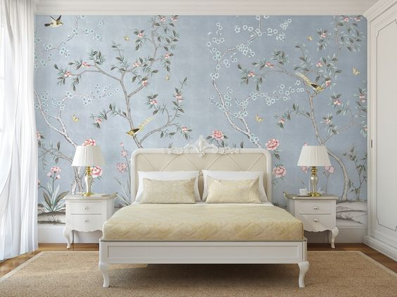 Attractive Bedroom Wallpaper Ideas to Create Different Look .