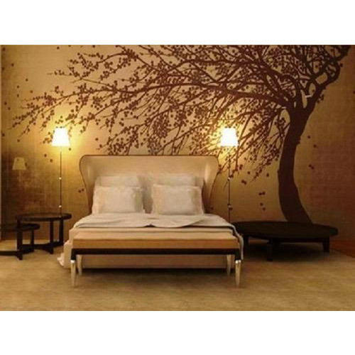 Paper Horizontal Bedroom Wallpaper, Rs 35 /square feet, Modern .