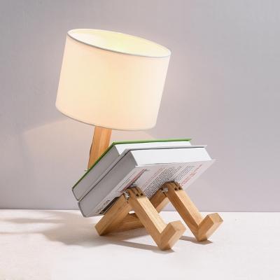 Modern Robot Table Lamp Distinctive Unique Adjustable DIY Book .