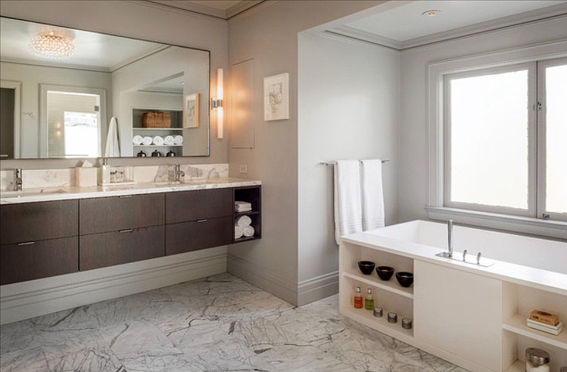 30 Quick and Easy Bathroom Decorating Ideas | Freshome.c