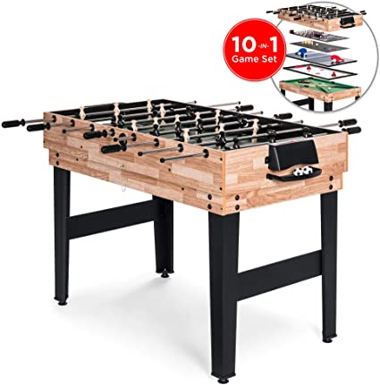 Amazon.com : Best Choice Products 2x4ft 10-in-1 Combo Game Table .