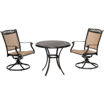 Buy Hanover Outdoor Bistro Sets Online at Overstock | Our Best .