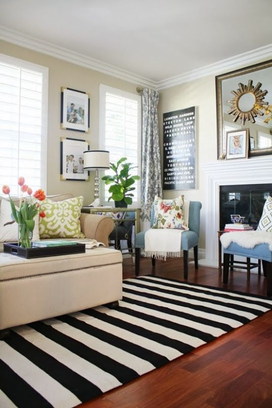 14 Beauty Home Designs With Black & White Stripe – Top Easy .