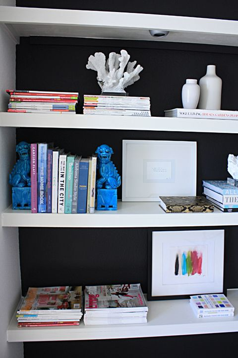 My Office Bookshelf...(Via Made By Girl) | Office bookshelves .