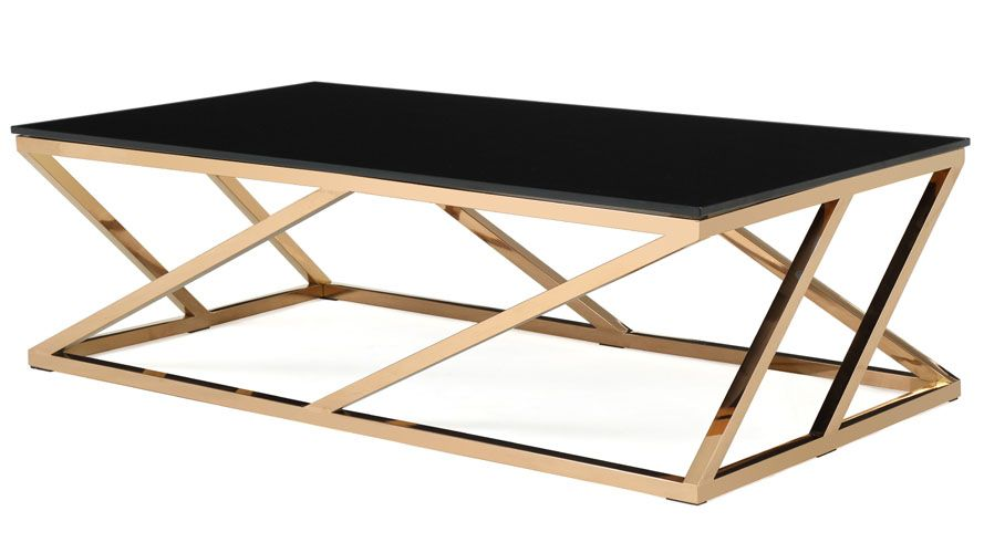 Geo Coffee Table | Contemporary coffee table, Coffee table design .