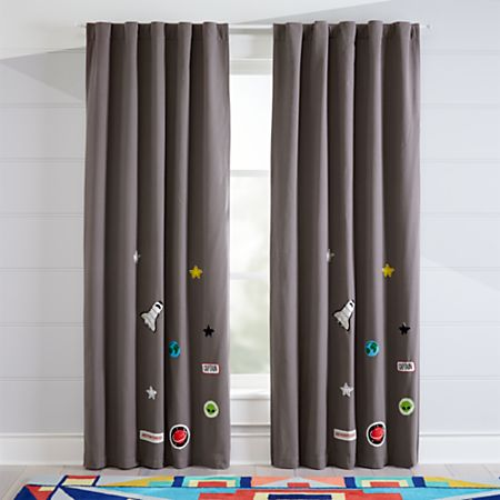 Space Blackout Curtains | Crate and Barr
