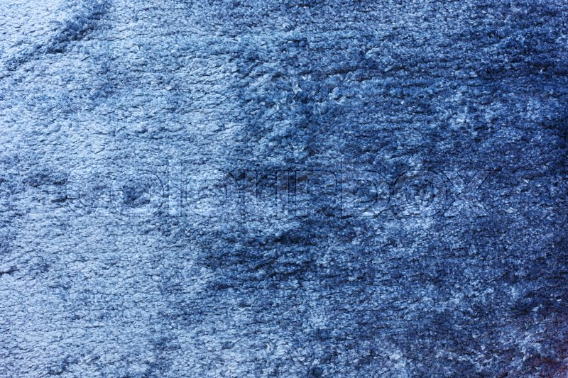 Blue carpet softness texture decorated ... | Stock image | Colourb