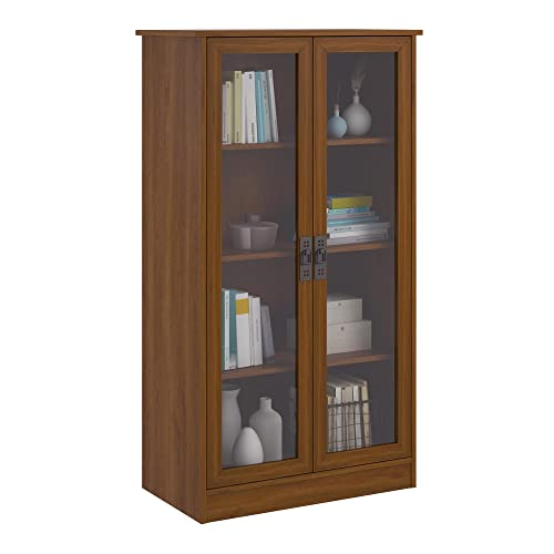 Glass Front Bookcase: Amazon.c