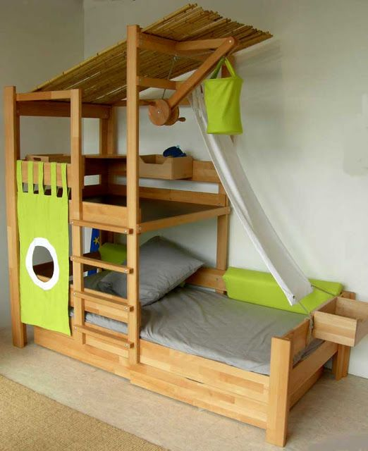 Really cool kids beds | Cool beds for kids, Kid beds, Diy toddler b
