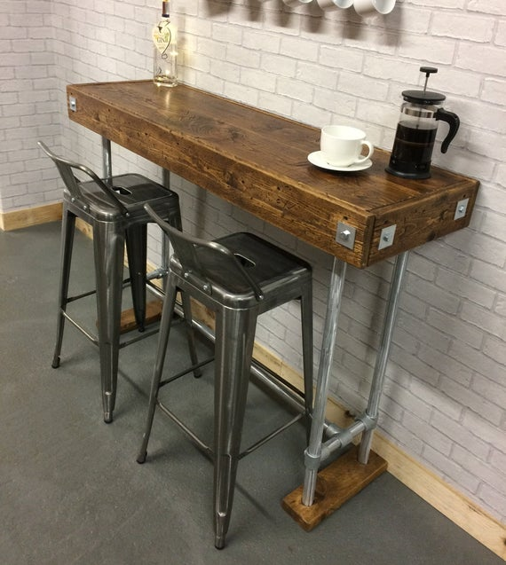 Breakfast Bar Table / Kitchen Table / Cafe Table / Kitchen Bar | Et