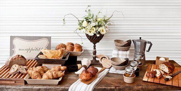 Buffet table decorating ideas – how to set elegant arrangements .