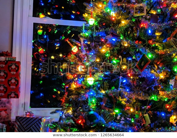 Christmas Tree Bubble Lights Stock Photo (Edit Now) 12656346