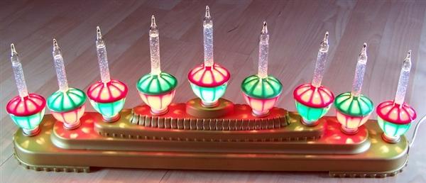 Christmas Lights Decoration Centerpie