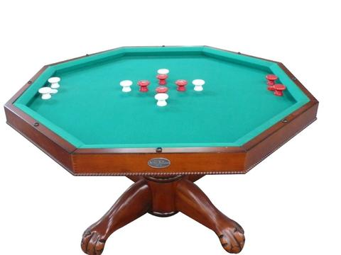 "Berner Billiards Multi 3 in 1 Table - Octagon 48"" w/Bumper Pool ."