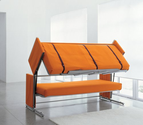 Convertible RV Bunk Bed Sofa Transformer - Unique RV Furnitu
