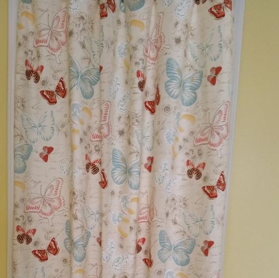 Nursery Curtains Kids Room Curtains Butterfly Curtains | Et
