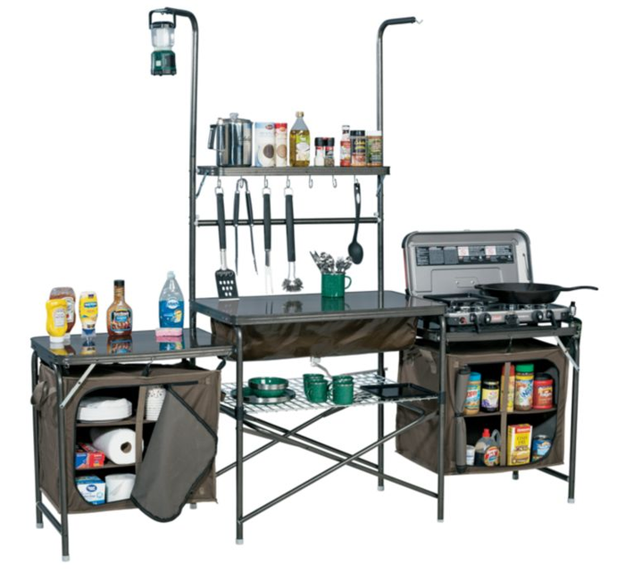 Cabela's Deluxe Camper's Kitchen Review - Roundfor