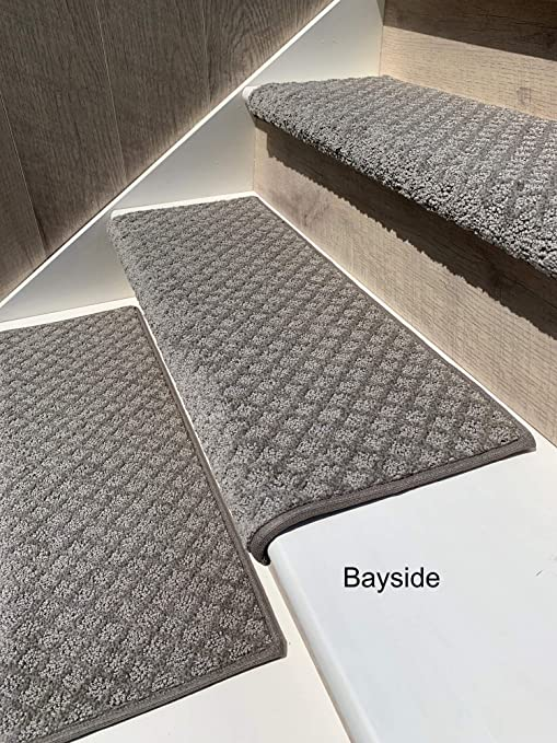 Oak Valley Designs Carpet Stair Treads - Style: Bayside Charm (27 .
