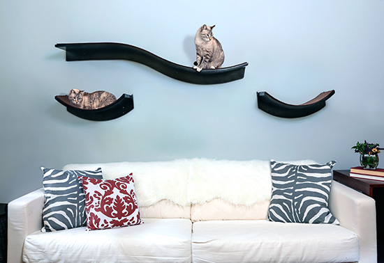 NEW! Lotus Cat Shelves from The Refined Feline • hauspanth