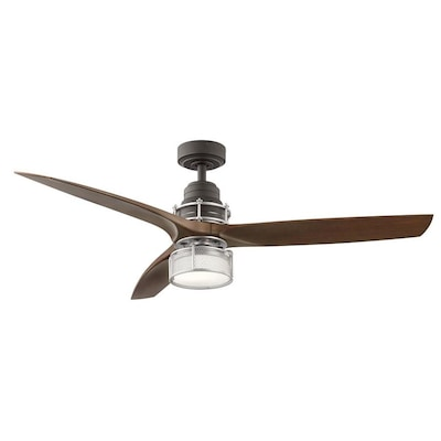 Kichler 54-in Satin Bronze LED Indoor Ceiling Fan with Light Kit .