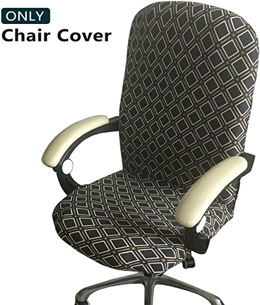 Amazon.com: Melaluxe Office Chair Cover - Universal Stretch Desk .