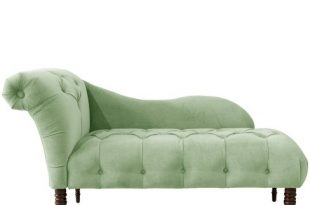 Chaise Lounge In Lulu Sage Green - Skyline Furniture : Targ