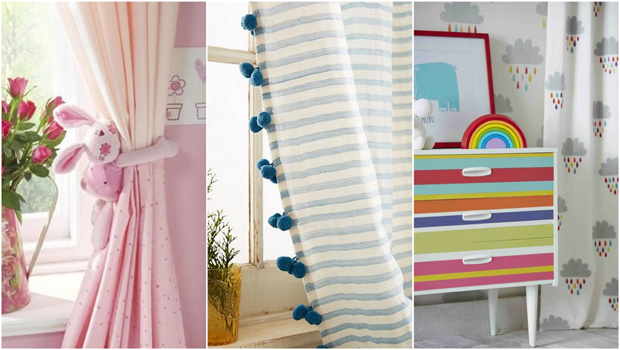 14 Cute Photos That Will Help You Style Your Child's Bedroom Curtai
