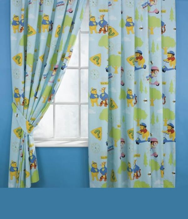 Curtain Designs And Styles For The Children's Bedro