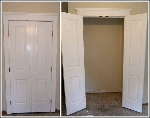 Interior Wood French Doors for Closet | French doors interior .